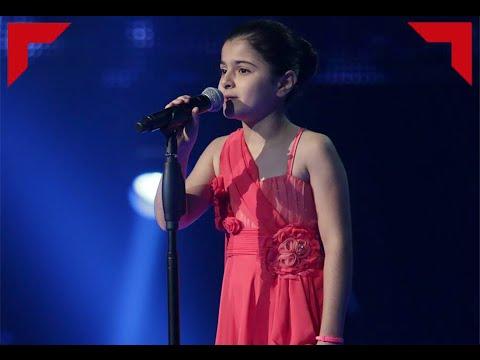 فيديو اغنية ميرنا حنا موال البارحة بالحلم كاملة HD ذا فويس كيدز