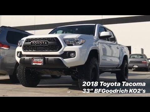 2018 Tacoma 4x4 Fox Lift SPC UCA AAL & 33's