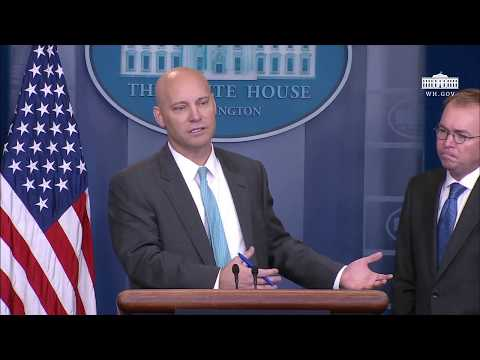 Briefing with Director Marc Short and Director Mick Mulvaney