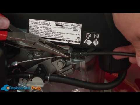 How to Replace the Control Cable on a Troy-Bilt TB130 Lawn Mower (Part # 946-04670B)
