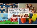 Toddler Lesson Plans- Turkeys