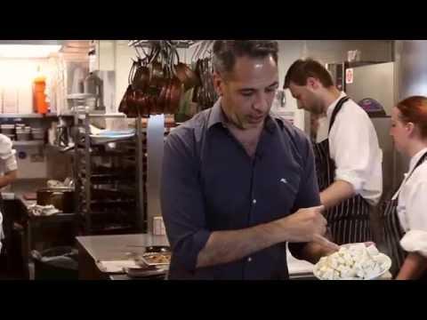 NOPI Recipe: Celeriac Purée with Cauliflower & Quail's Egg by Yotam Ottolenghi &  Ramael Scully