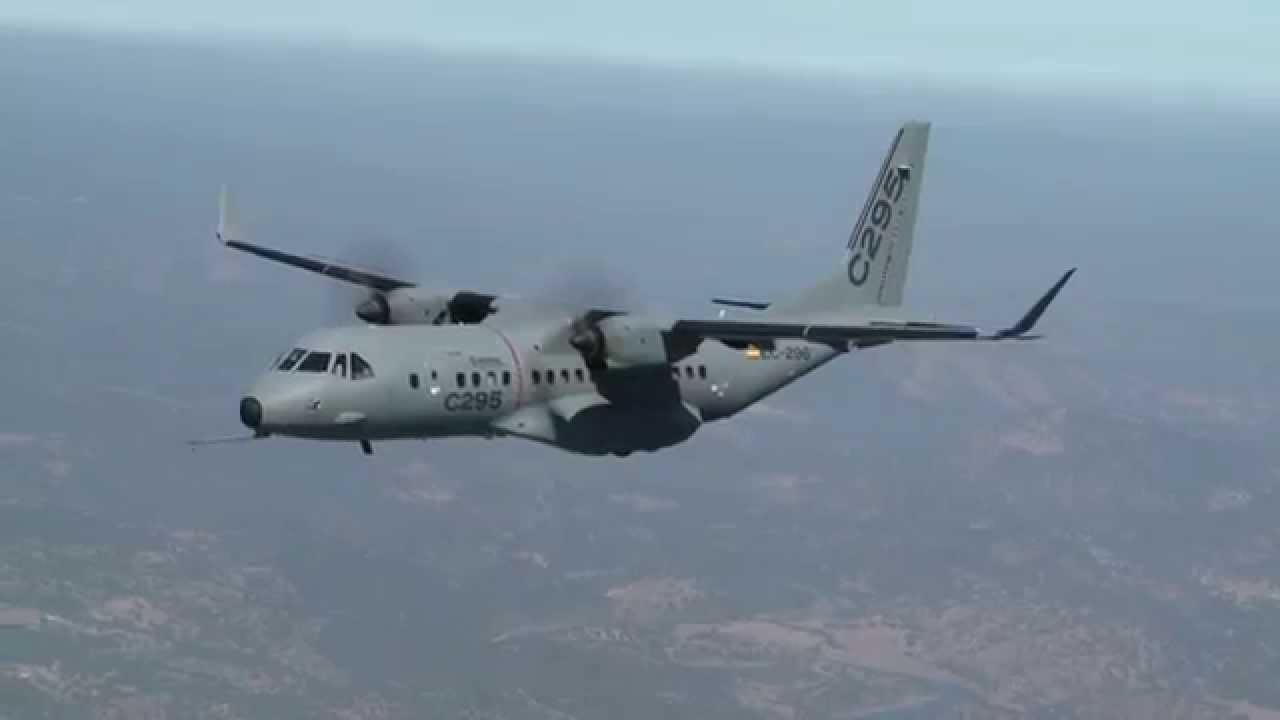 C295W now equipped with Winglets - YouTube