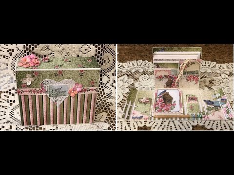 STATIONERY BOX TUTORIAL SHELLIE GEIGLE JS HOBBIES AND CRAFTS