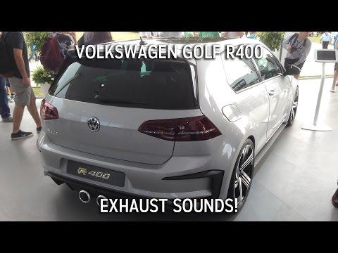 Volkswagen Golf R400 Rev Sound! - Goodwood Festival of Speed
