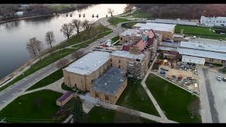 Dixon High School Drone Footage - Construction