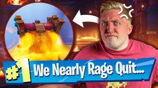We Nearly RAGE QUIT Jesgran's Deathrun - Fortnite Creative Map