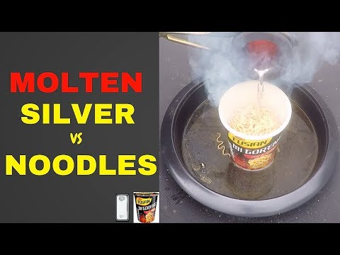 Molten Silver vs Noodles