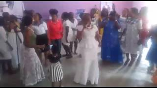 MATILDA AGYEMANG LIVE PERFORMANCE ON OUR BABY GIRL,S NAMING