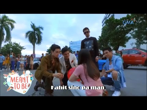 Kahit Sino Pa Man (Lyrics-Video) by 'Meant to Be' Lead Stars