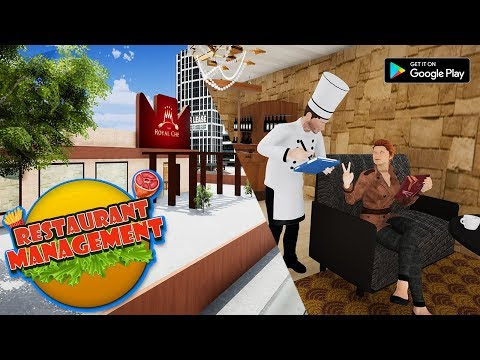 Restaurant Management Job Simulator Manager Games -Android Game Play