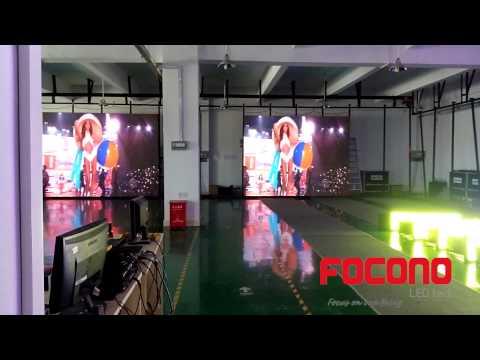 outdoor led  rental display P10mm project in Nigeria