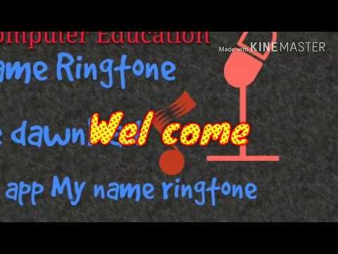 My name ringtone free dawnload