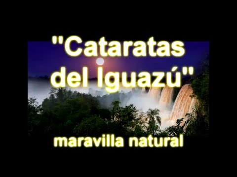 WOW air travel guide application - Iguazú Falls
