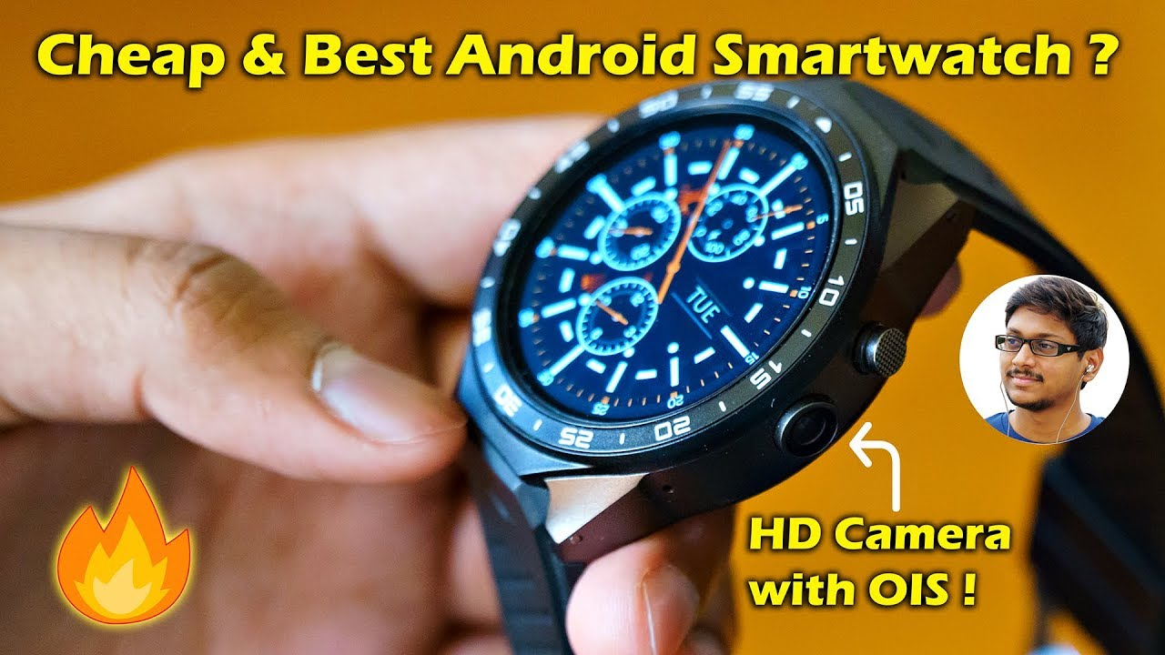 17c1469f993 Cheap   Best Android Smartwatch with HD Camera... - YouTube