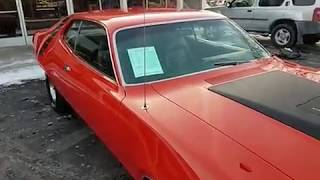 1971 Plymouth Roadrunner V code N96 Air Grabber EV2 Hemi Orange