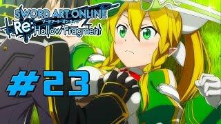 Sword Art Online Re: Hollow Fragment - Walkthrough Part 23 Sinon, Leafa, Yui & Liz