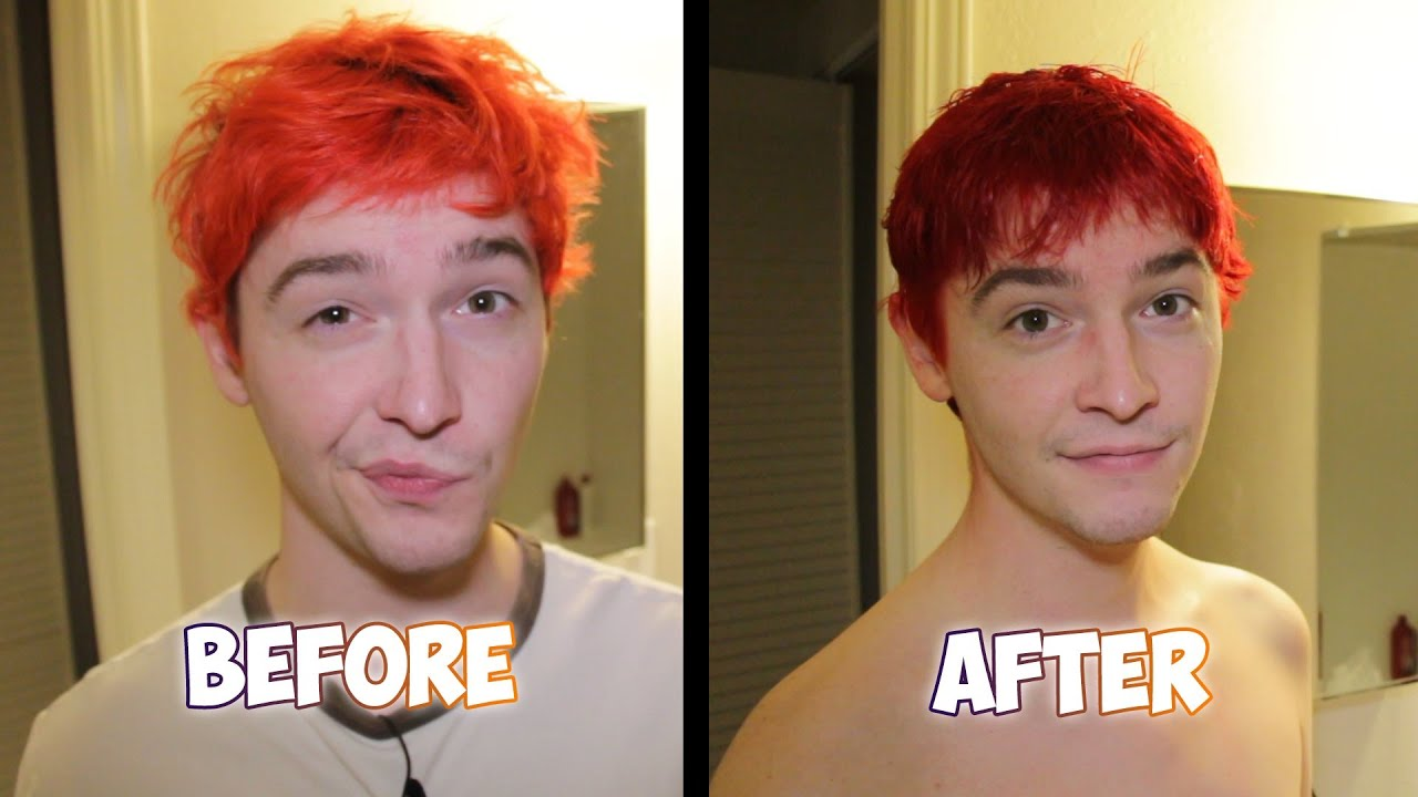 Dying My Hair Red Youtube