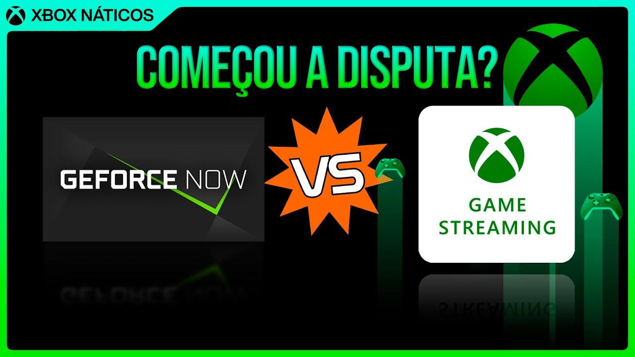 Xcloud e Geforce Now - Matérias tendenciosas e a disputa pelo Streaming de jogos