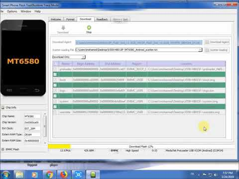 How To Flash Infinix Hot 7 X624 And X624B Official Firmware.