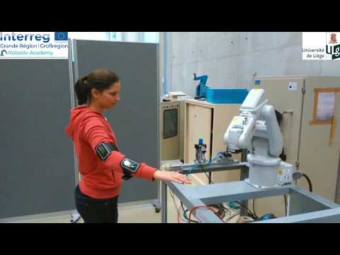 Robot programming by human motion (ULiège)