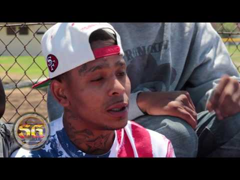 Half Ounce from Neighborhood Piru talks about near death experience, Rogers Park, Inglewood