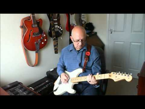 Halfway to Paradise - Billy Fury - Instrumental by Old Guitar Monkey