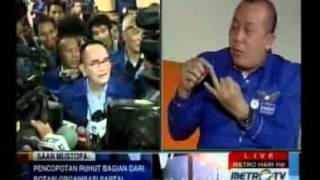 Repeat youtube video Ruhut Sitompul Diusir dan Nyaris Dikeroyok Anggota Partai Demokrat