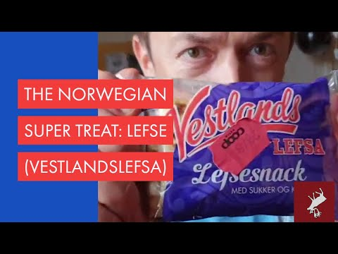 Norway's unique sweet treat: lefse/lefsa (food)
