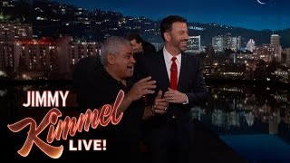 BEHIND THE SCENES - How Jimmy Kimmel Met Yehya