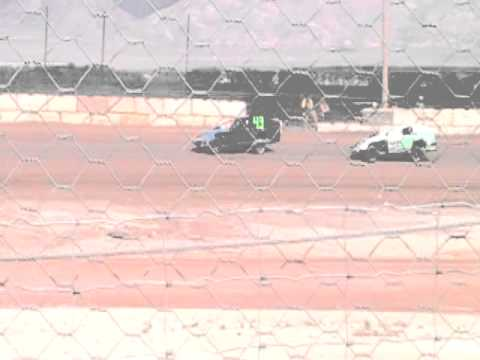 4-9-11 Jeff Elerick lovelock speedway imca modified main part 1