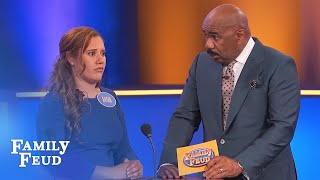 WARNING! If Angie's funeral ain't NICE... SHE'LL KNOW! | Family Feud