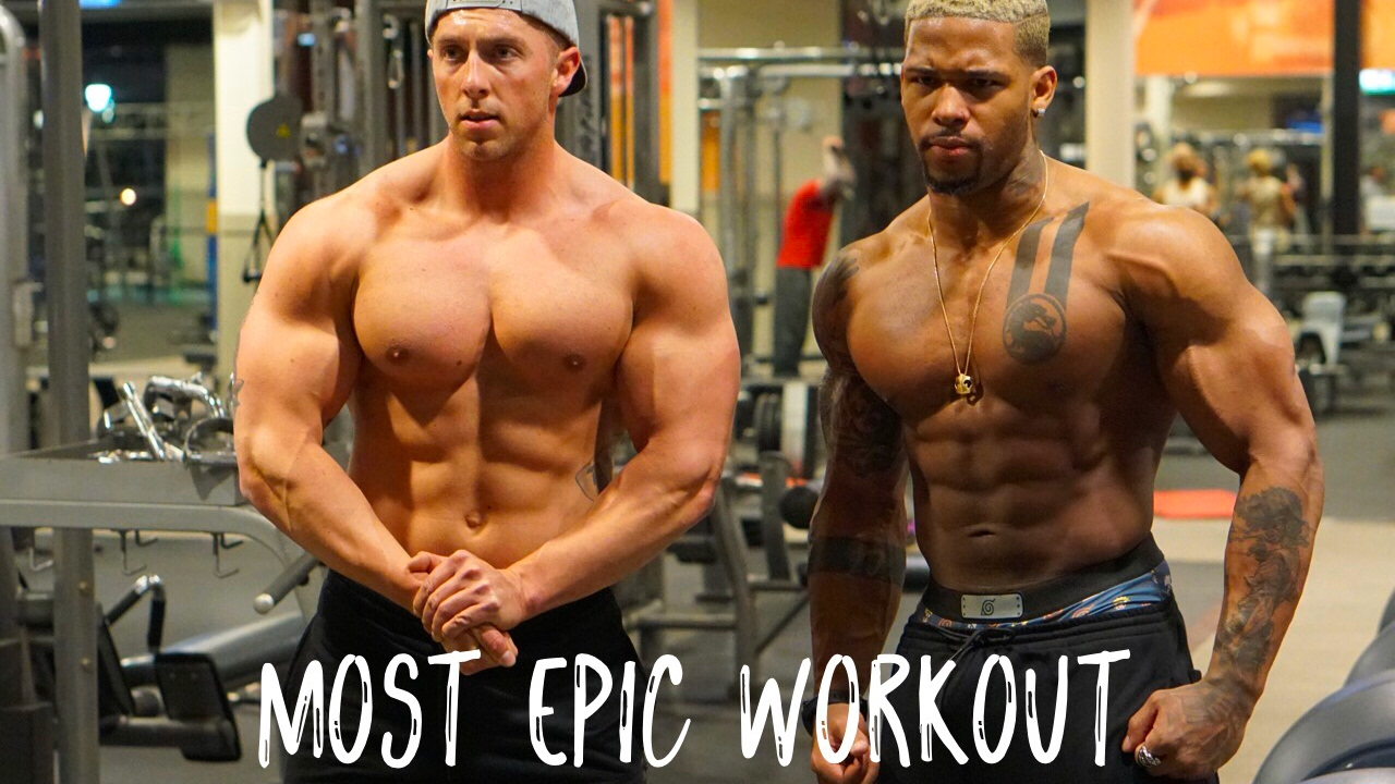 Epic Chest Day With Nick Bare  Ft Christian Guzman -8220