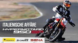 Fremdgehen auf Italienisch – Ducati Hypermotard 950 SP NEU für 2019 – Motorradreise.TV