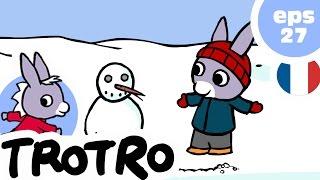 TROTRO - EP27 - Trotro et le bonhomme de neige