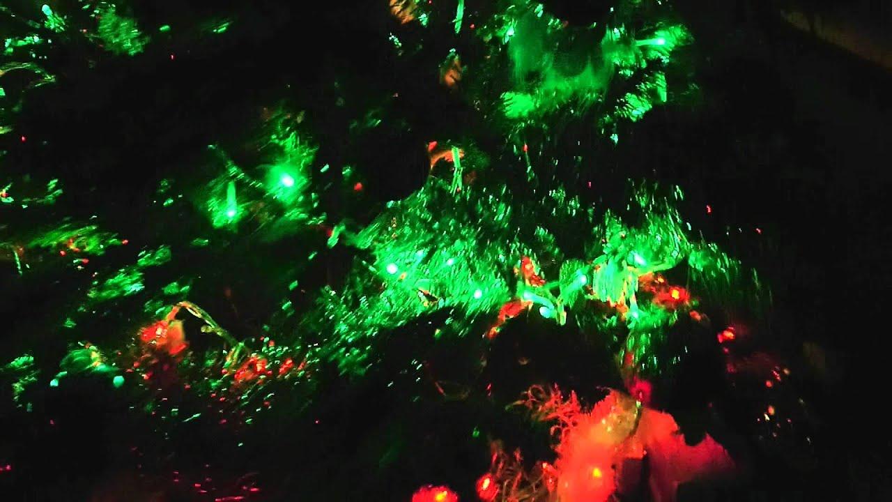 Test Christmas Tree String Lights : VU Meter Christmas Tree Lights (Test) - YouTube