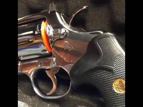 357 Colt Python Bright Stainless Restoration
