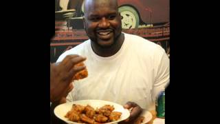 Brief talk with Shaq about Dry Fried Wings in South Florida