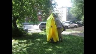 Сборка палатки