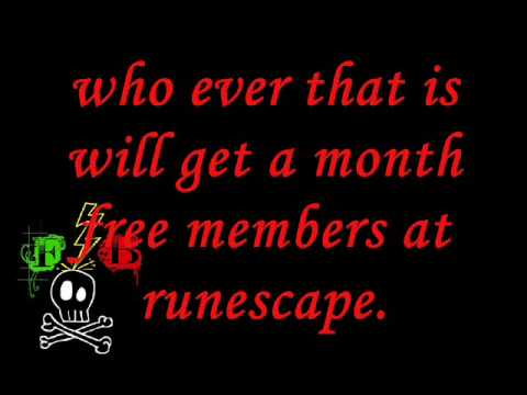 Runescape contest free member for 1 month