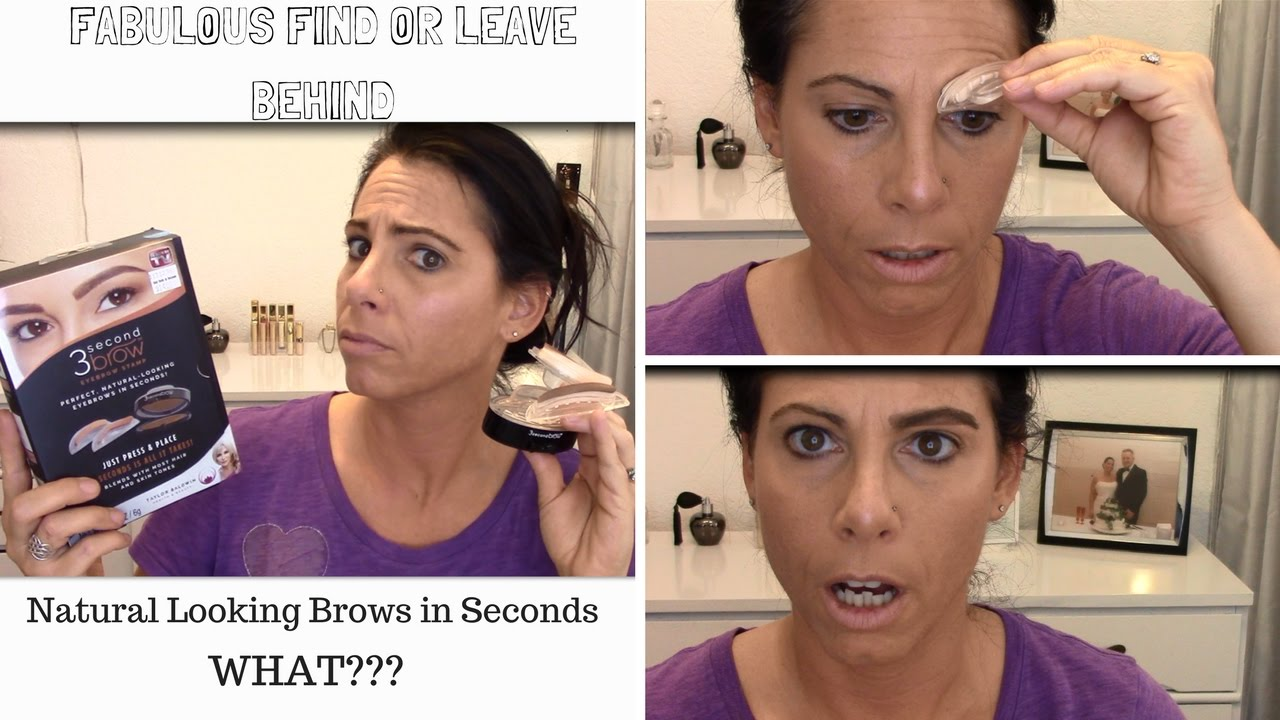 3 Second Brow