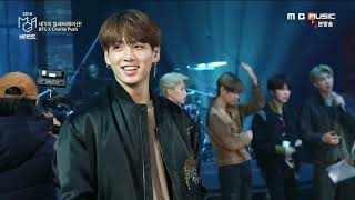 BTS x Charlie Puth @MGA 2018 - behind the scenes
