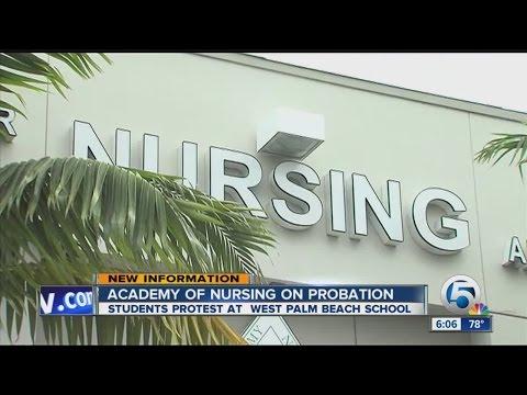 Nursing students upset with West Palm Beach academy