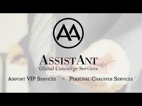 Airport VIP Services & Personal Chauffeurs | AssistAnt Global Concierge Services