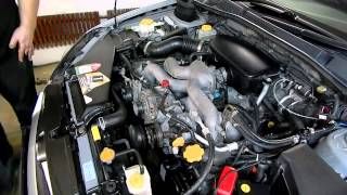 1-ый запуск после замены комплекта ГРМ: стук натяжителя Subaru Legacy BP5 EJ204