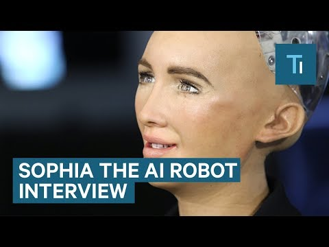 We Talked To Sophia 鈥� The AI Robot That Once Said It Would 'Destroy Humans'