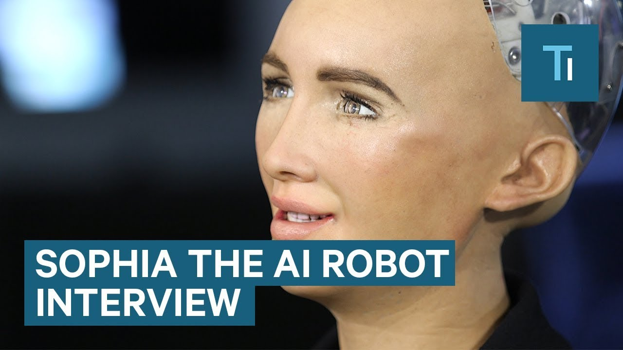 18a9da71946e9 We Talked To Sophia — The AI Robot That Once Said It Would  Destroy Humans