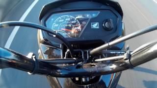 Pedro da 919 - honda pop 110i a mais de 130 km/h