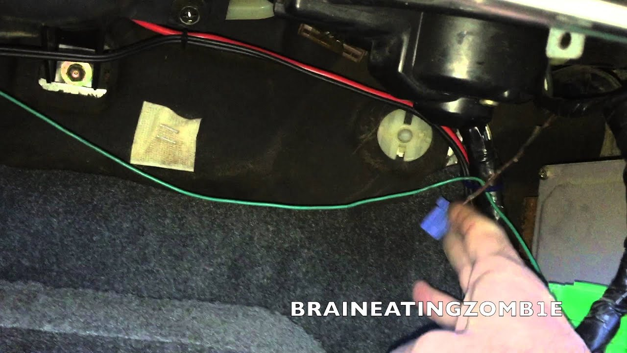 Honda Civic Engine Timing Adjustment Service Connector Location Accord Obd