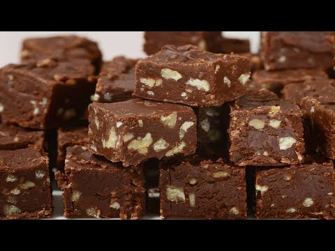 Chocolate Marshmallow Fudge Recipe Demonstration - Joyofbaking.com